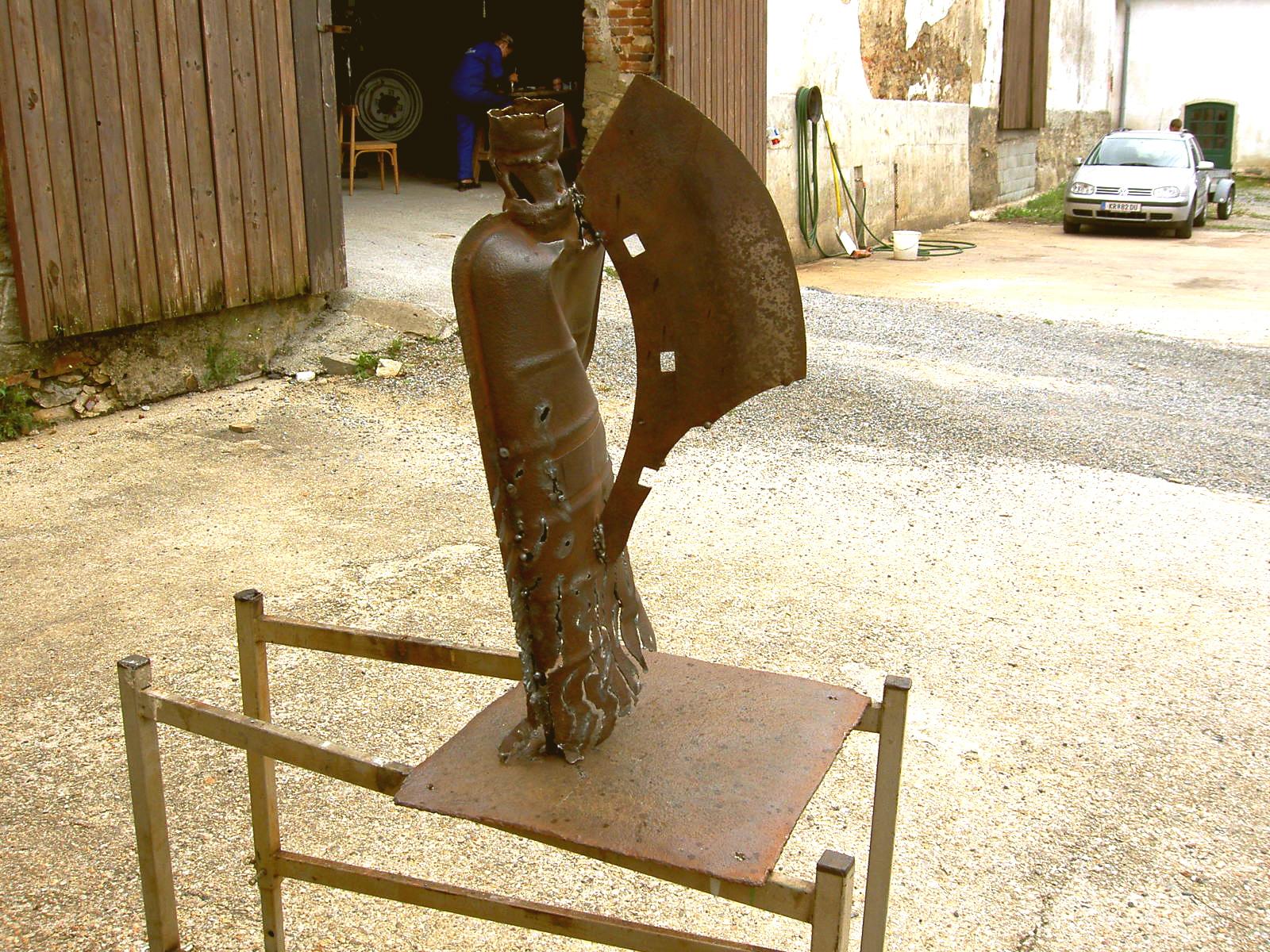 Metall Skulptur kreatives Schweissen